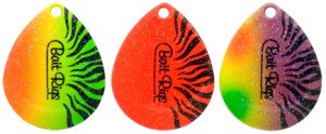 AstroBrite New Tiger Spinner Blade Colors