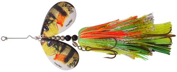Viper 2, PreyFish Mag 10 Bucktail in Yellow Perch Color
