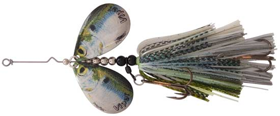 Viper 2, PreyFish Mag 8 Bucktail in Shad Whitefish Color